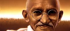 Ghandi ritaglio