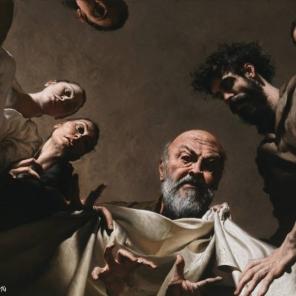 Labano cerca gli idoli nel baule di Giacobbe