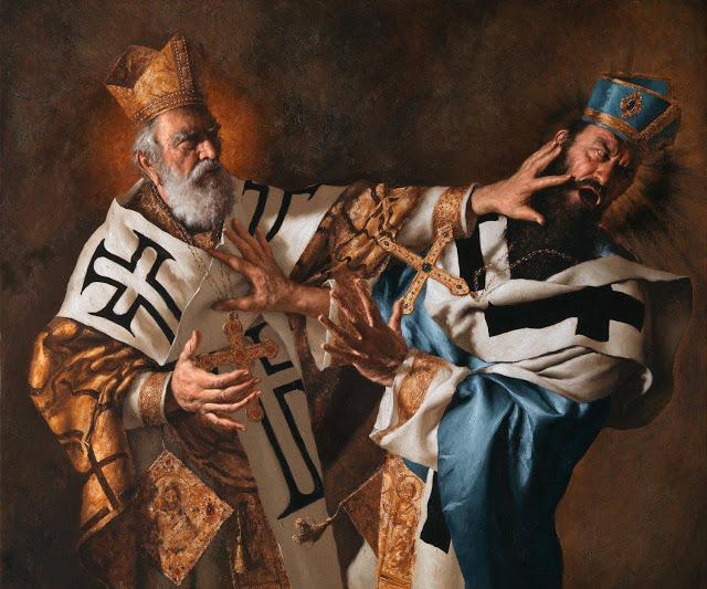 San Nicola al concilio di Nicea