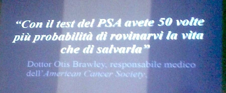 Dott. Ous Brawley sul PSA