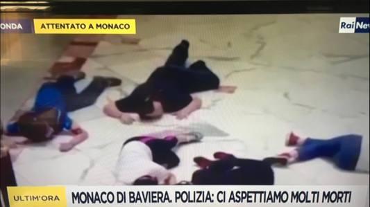 Attentato a Monaco-Fake