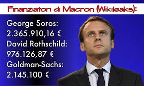 Macron e finanziamenti