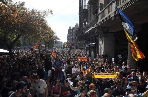 Catalunya proteste popolari per indipendenza