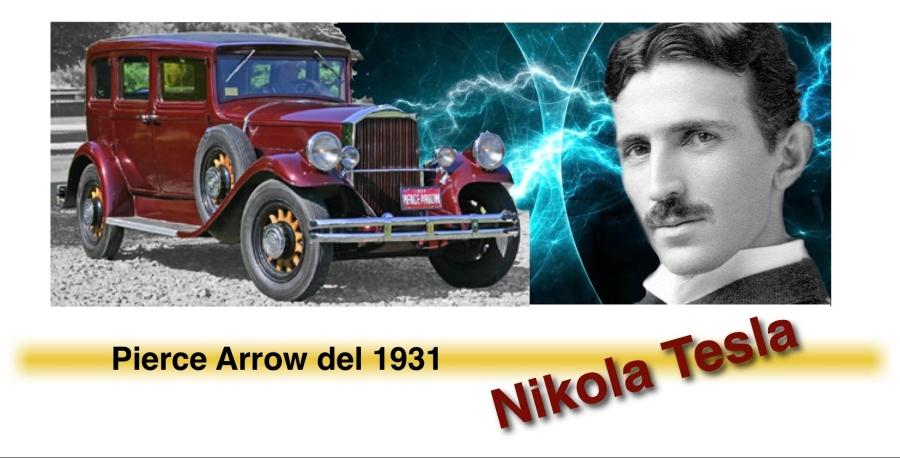 Pierce Arrow a motore elettrico Nikola Tesla