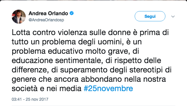 Tweet Andrea Orlando parità i genere.png