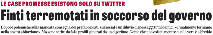 Falsi tweet terremotati Italia, intestazione.png