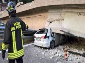 Ponte superstrada Milano-Lecco, ottobre 2016