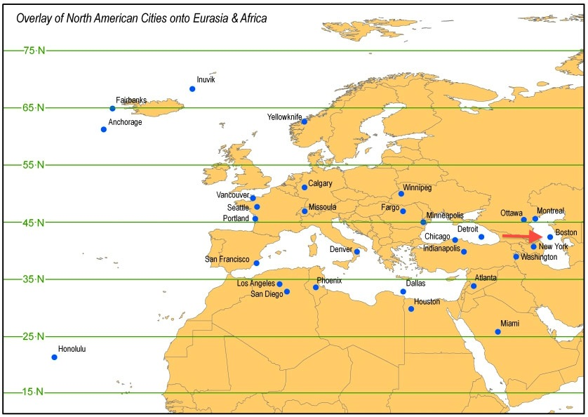Europa - Nord America