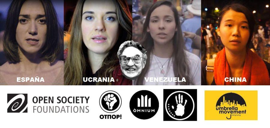 Ragazze nei video promo delle rivoluzioni colorate.jpg