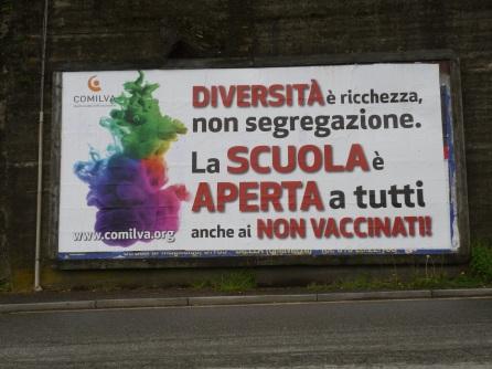 Pubblicità Biella Via Serralunga