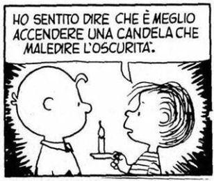 Charlie Brown - ottimismo