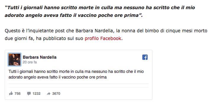 Bimbo morto a Strona, vaccino?.png