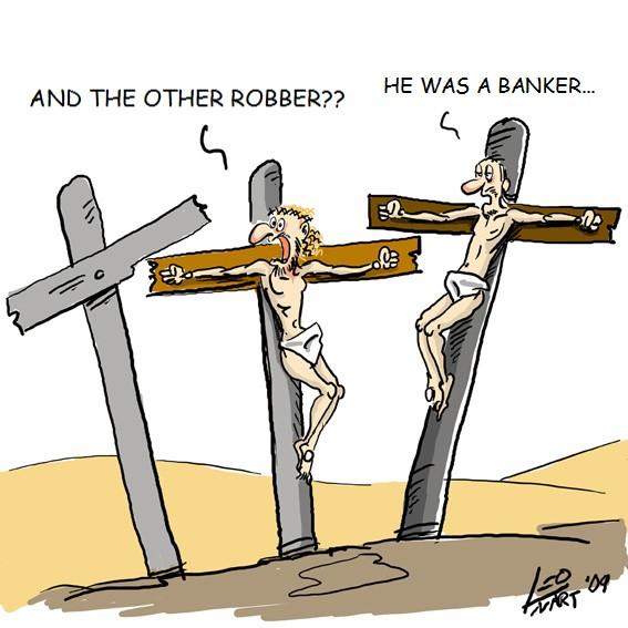 Il ladro banchiere in croce.jpg