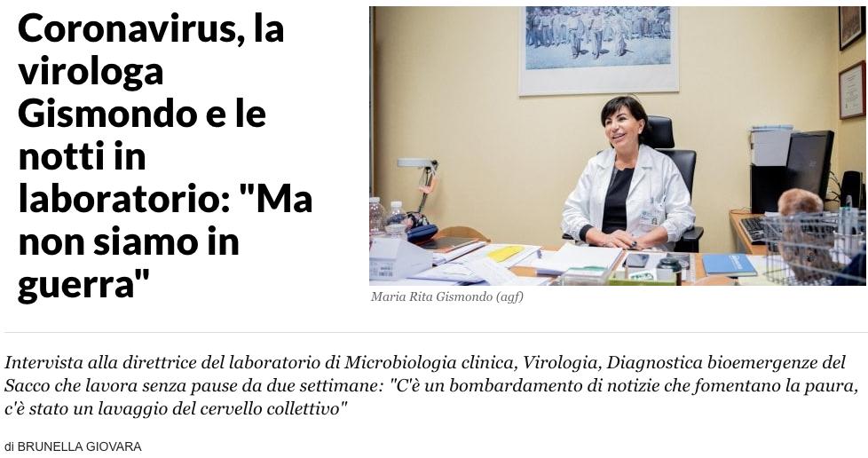 Laboratorio Sacchi - dott.ssa Gismondi