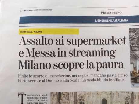 Milano, assalto ai supermarket