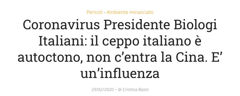 Vincenzo D'Anna coronavirus ceppo italiano.png