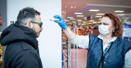 Controllo temperatura supermercato