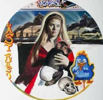 Madonna con scimmia