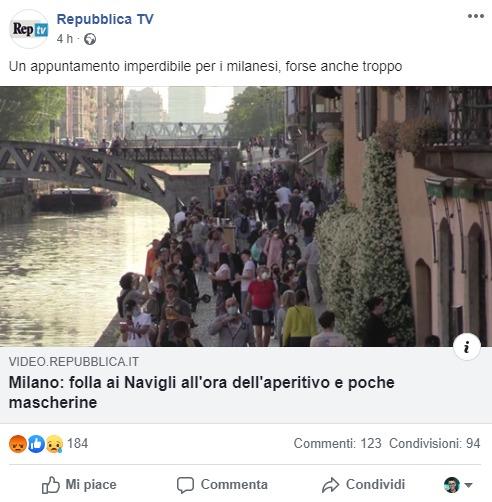 Folla ai Navigli_Repubblica_TV_Post