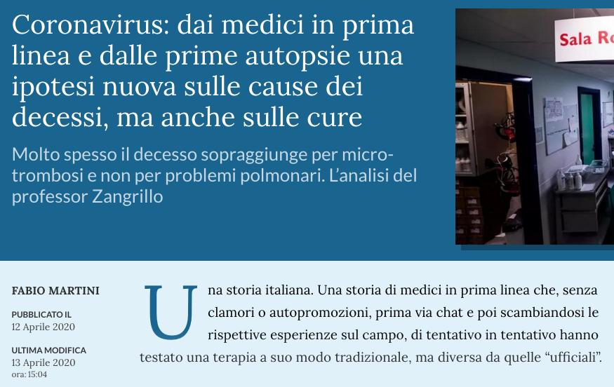 La Stampa. Cause decessi virus e cure.png