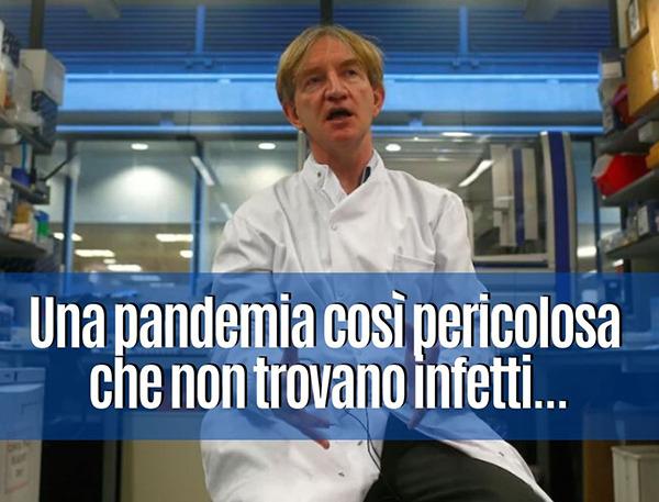 Pandemia senza infetti
