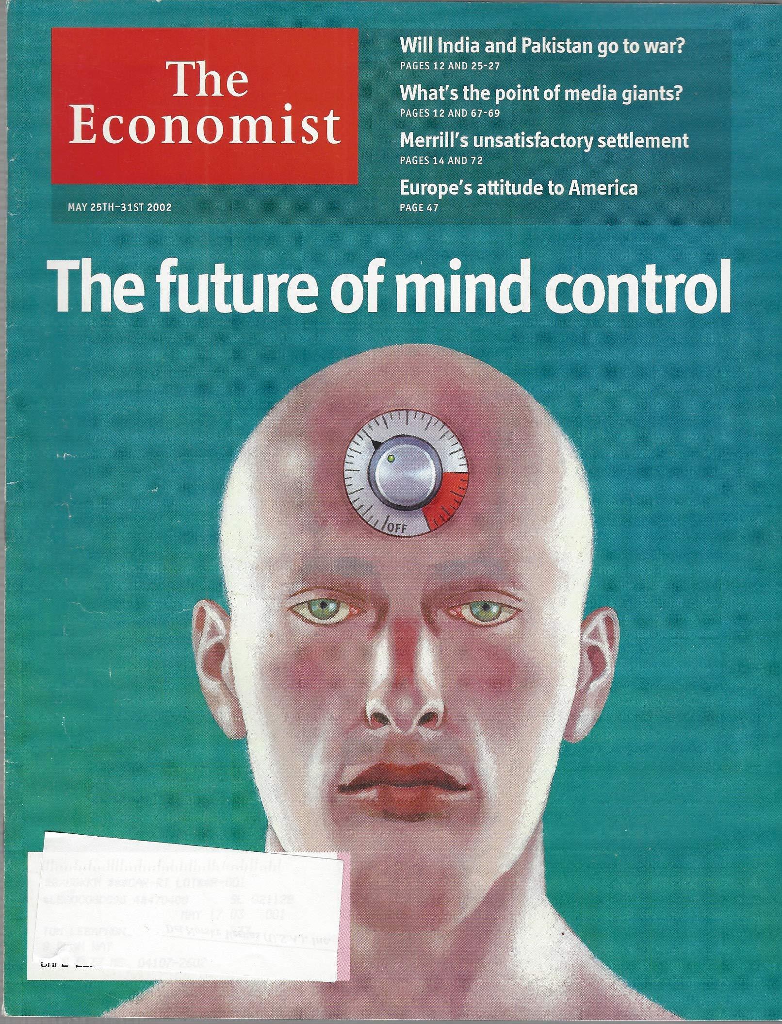 Copertina The economist maggio 2020