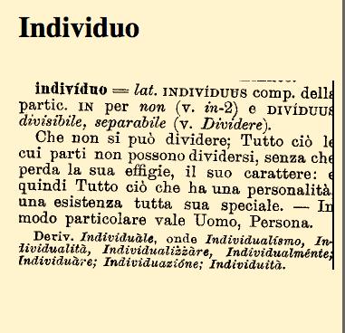 Etino individuo