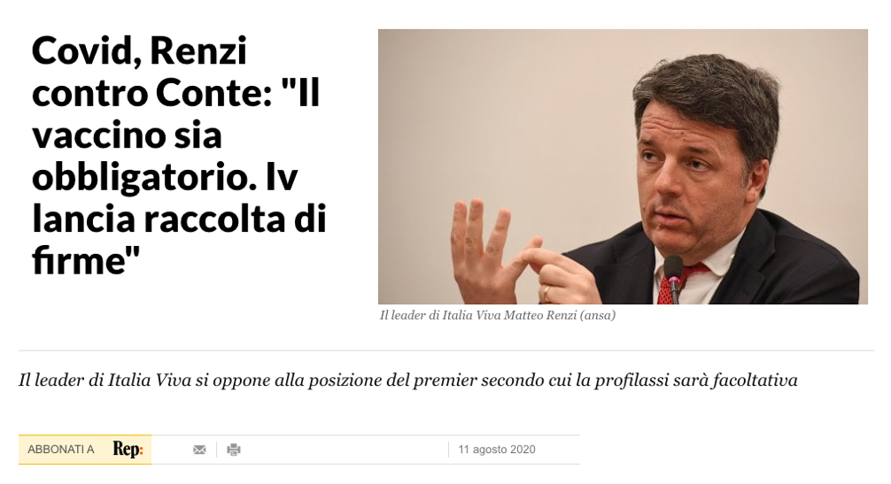 Renzi vaccino covid obbligatorio.png